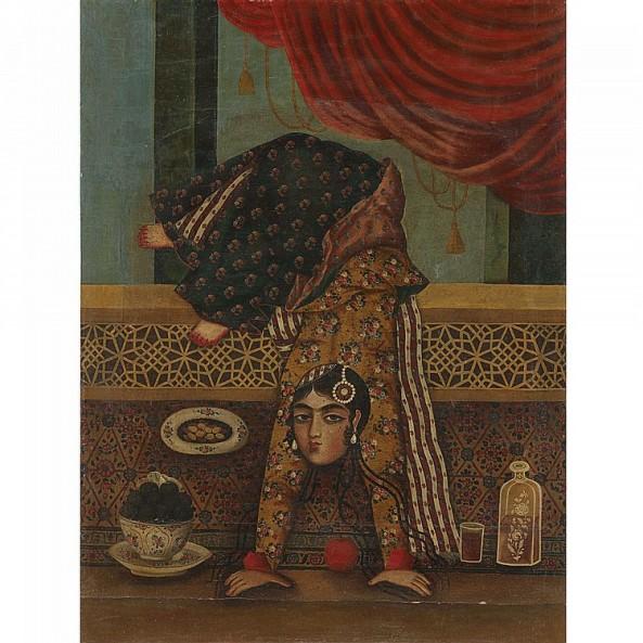 A Qajar Female Acrobat