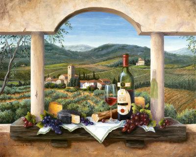 BF053~Wein-aus-der-Provence-Poster